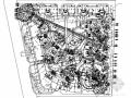 [东莞]花园居住区景观规划设计平面图