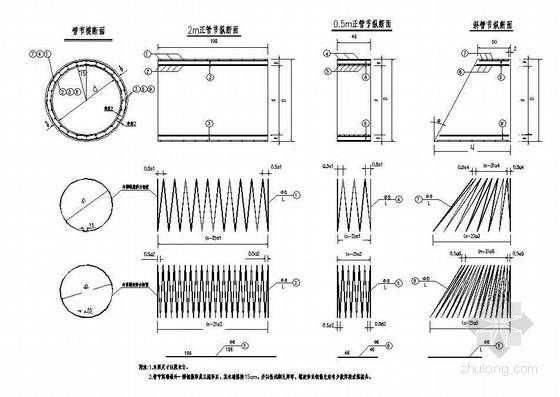 圆管涵预制管节构造节点详图设计