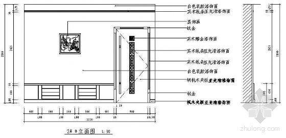 餐厅包房装修施工图-3