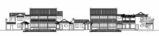 某古建筑群居建筑设计方案图