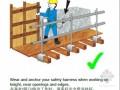 外资企业建筑施工安全宣传漫画(中英文对照)