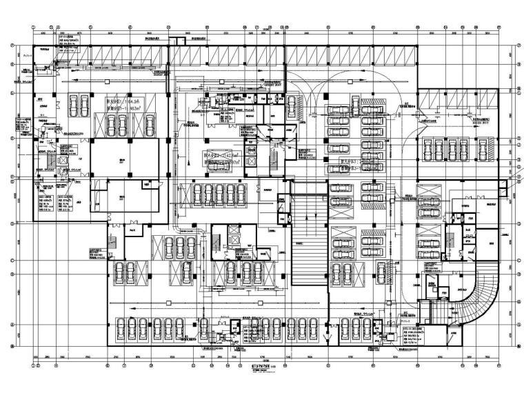 [浙江]高层图书馆空调通风及防排烟系统设计施工图(人防设计)
