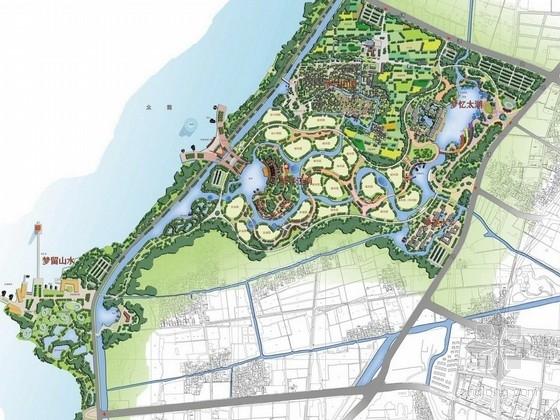[苏州]浪漫休闲天堂综合型公园景观设计方案
