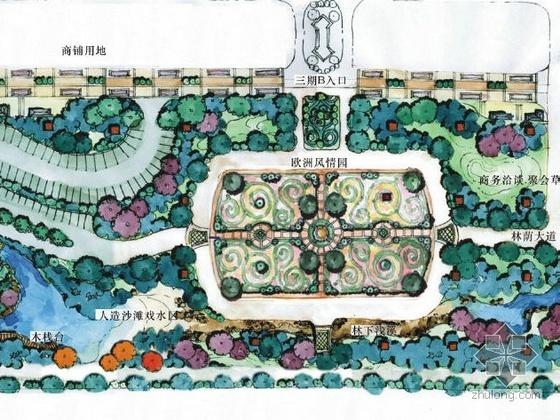 上海某主题公园景观设计方案