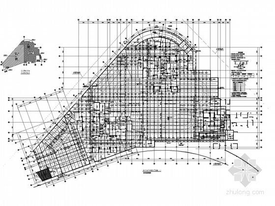[广东]高层住宅群给排水施工图纸(气体灭火 游泳池 水景池)