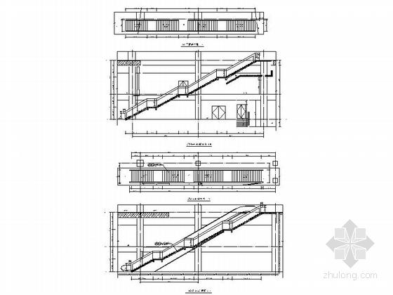 [福建]四层现代风格地铁站配套用房建筑施工图(2015年图纸知名设计院)-四层现代风格地铁站配套用房大样图