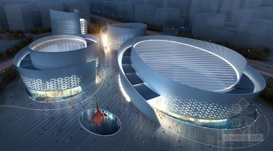 [四川]大型省级文化中心建筑设计方案文本(国内知名设计师)