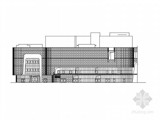 [江苏]五层现代风格办公楼建筑施工图