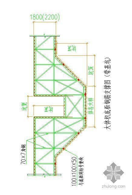 湖北某高层建筑群底板大体积混凝土施工方案(有计算)