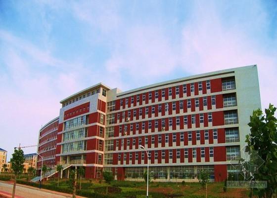 厦门小学6层教学楼 (土建)工程造价指标(框剪 2012.12)