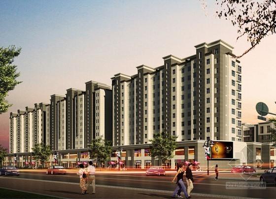 [安徽]8栋住宅楼建筑安装工程预算书(含全套施工图纸)