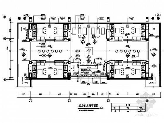 主题酒店音乐廊施工图