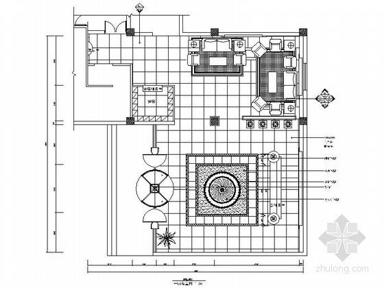 某洗浴中心大堂设计装修图