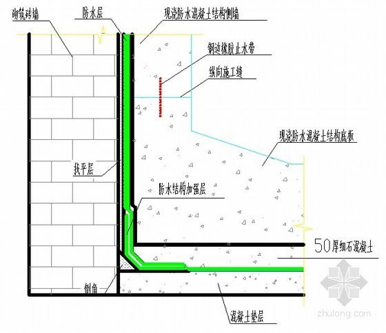 [山西]火车站主体结构地下室防水施工方案