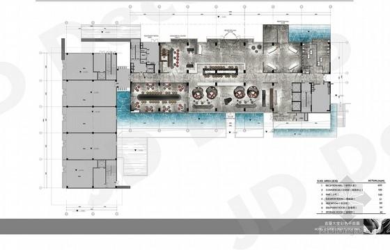 [广东]豪华简约时尚现代风格酒店室内装修设计方案