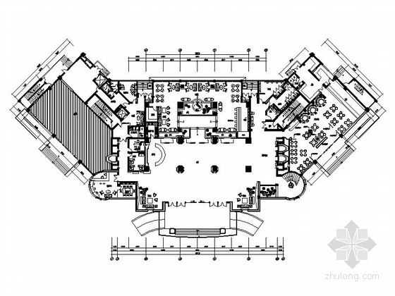 [湖南]原创地标性高档国际五星级酒店室内装修图(含效果)
