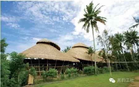 景观设计中的竹建筑案例浅析——巴厘岛上的竹子学校_8