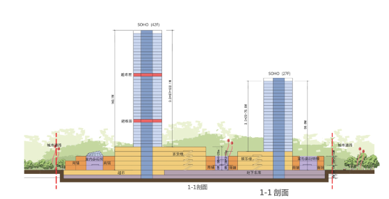 [河南]地标性超高层写字楼SOHO公寓及商业综合体方案(含CAD)_11