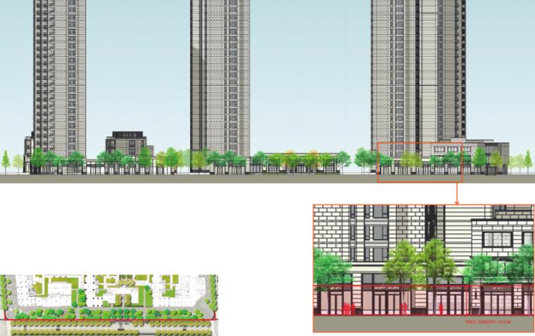 [上海]瑞虹路街道景观方案设计(PDF+16页)-模型