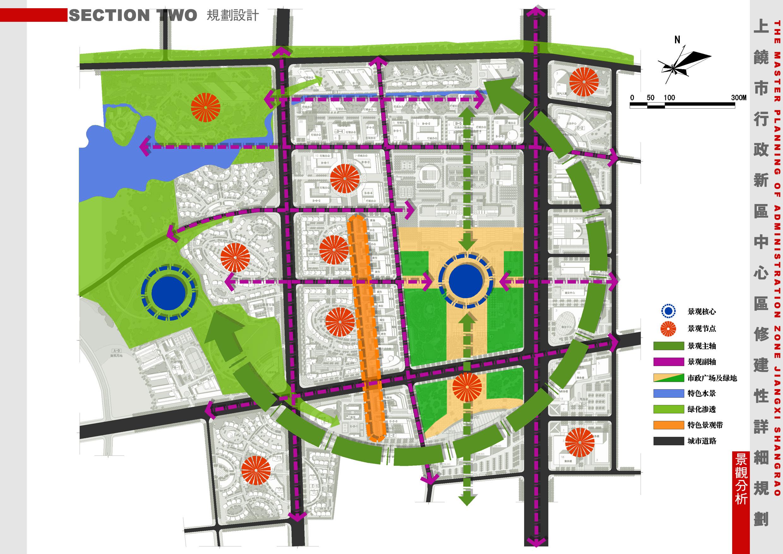 [江西]上饶新区中心区修建性详细规划设计方案文本图片