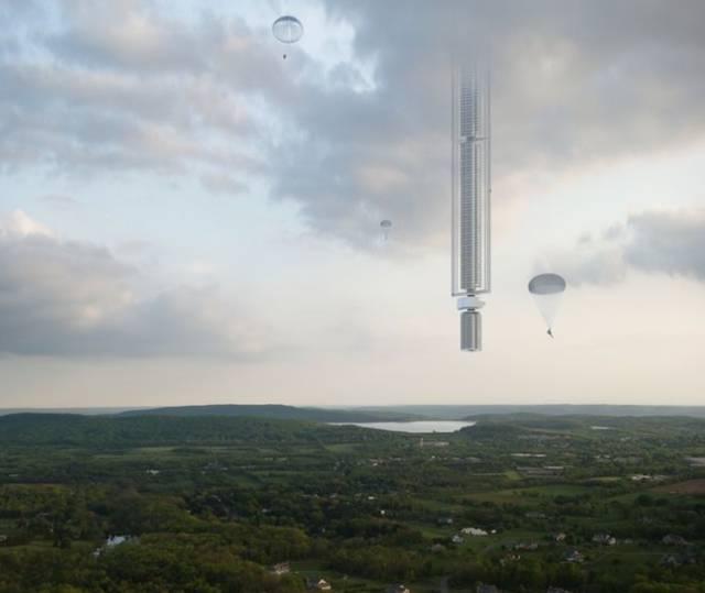 5万米高的建筑从天而降?!已有详细设计方案,施工能否实现全靠_16