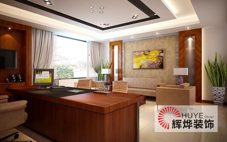 现代办公室装修与中国传统元素完美结合