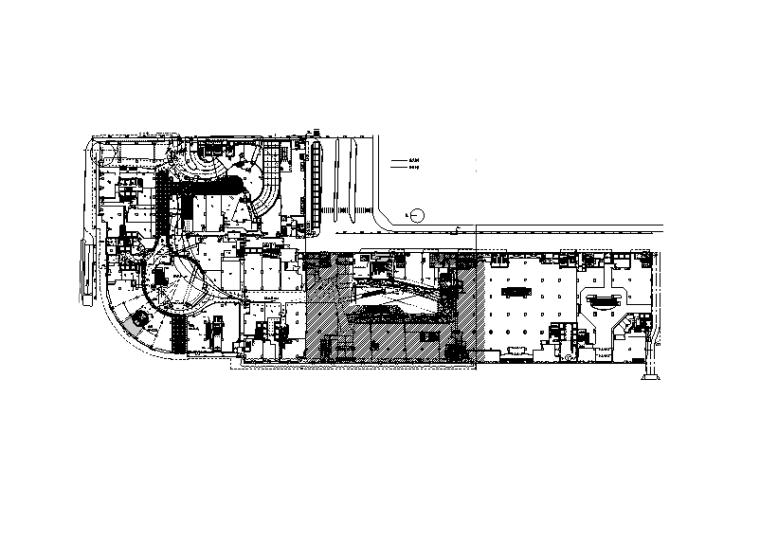 北京大型广场装饰电气改造施工图(火灾自动报警设计)