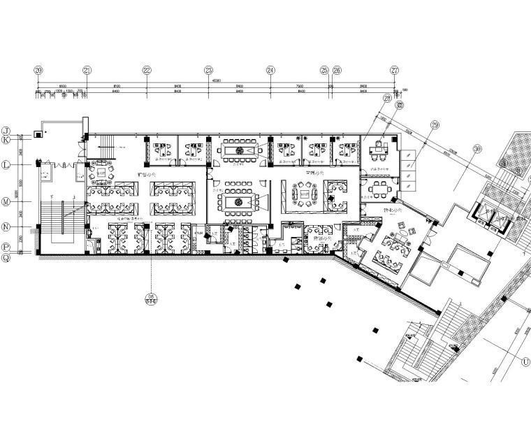 [重庆]康田·雍俊售楼处办公深化方案+效果图+施工图+机电+物料书