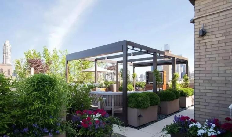 现代屋顶花园设计赏析_28