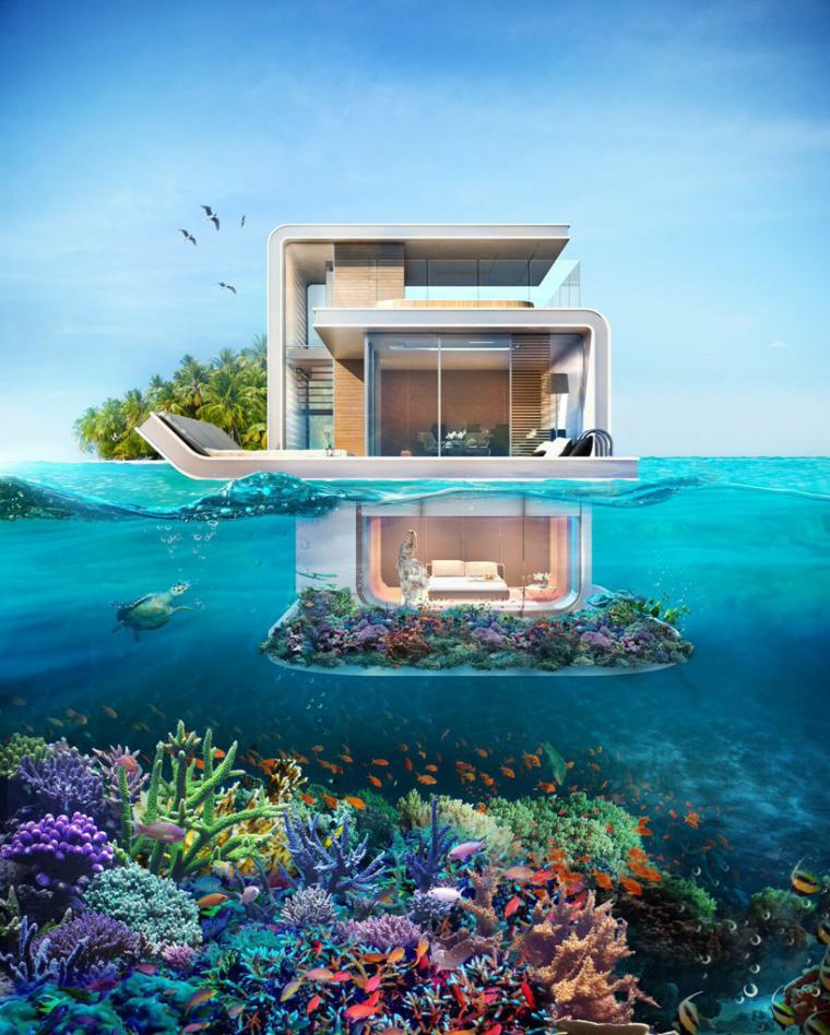 迪拜漂浮海马当代游艇_2