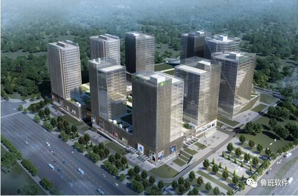 [BIM案例]龙洞堡电子商务港项目一期工程(商业综合体B区)