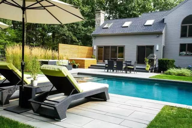 赶紧收藏!21个最美现代风格庭院设计案例_115
