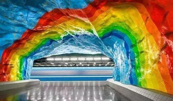 世界最美地铁景观,美到让你不想回家_7