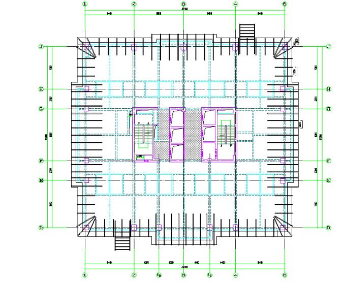 框架-核心筒结构高层悬挑外脚手架方案(79页,附图丰富)