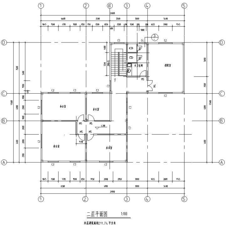 黄埔区红十字医院放射楼室内装修设计施工图(9张)