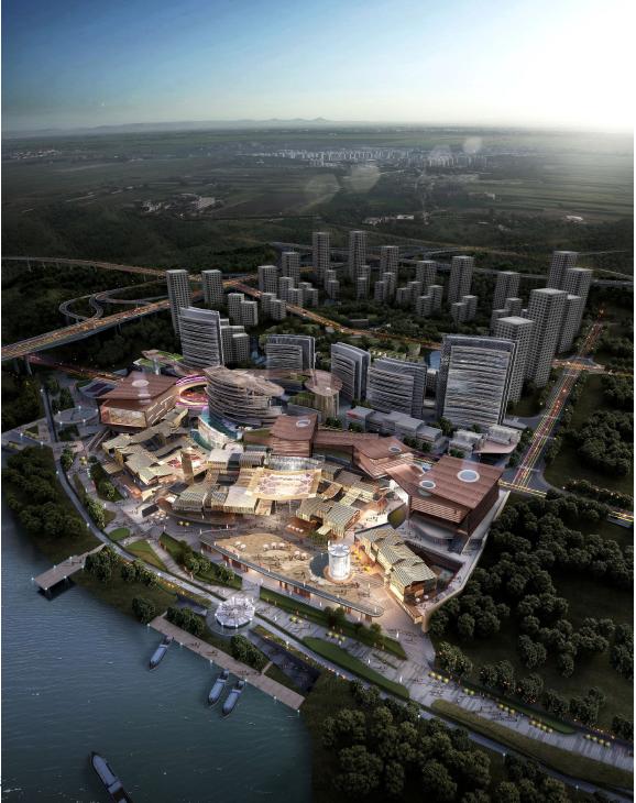 华熙国际重庆巴南滨江文化商业项目概念设计