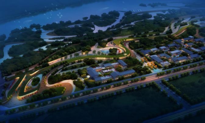 汉中天汉文化公园建筑设计方案