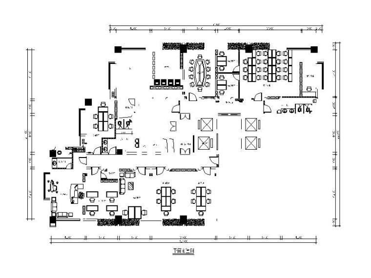 [江西]某科技公司设计施工图(含效果图)