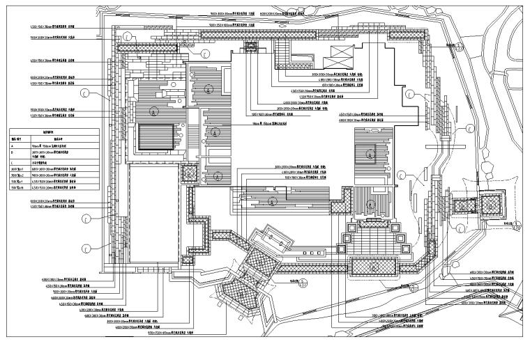[安徽]简约中式私家豪宅中式庭院景观设计全套施工图