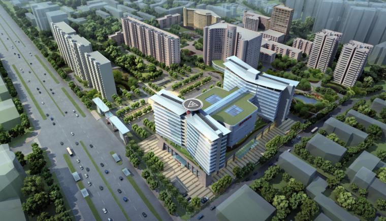 [北京]某知名三甲医院改扩建项目投标文本(含CAD,视频)
