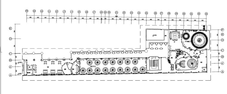 [昆山]现代风格会所概念空间设计施工图(含效果图)