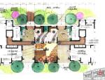 [上海]闸北大华阳城全套概念性景观设计文本(加拿大CSC赛瑞)