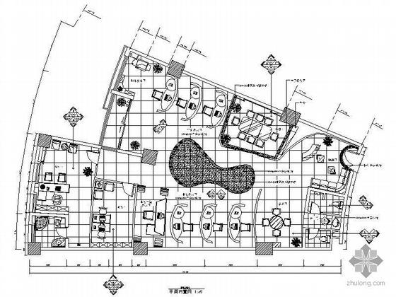 文化传媒公司办公空间设计图