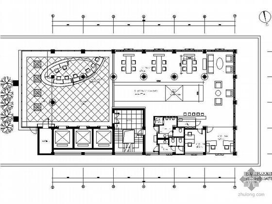 [天津]某售楼处设计施工图(装饰.水电)