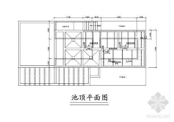 衢州某味精厂废水处理工艺流程图