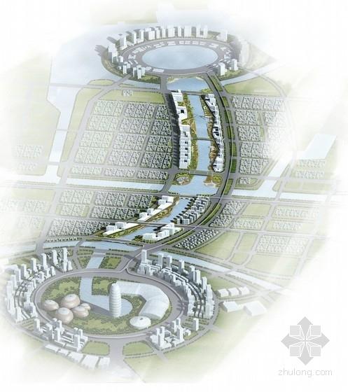 [河南]大型城市综合体规划及单体设计方案文本