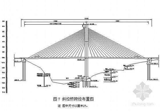 双索面独塔斜拉桥设计计算书