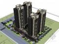 高层住宅建筑SketchUp模型下载