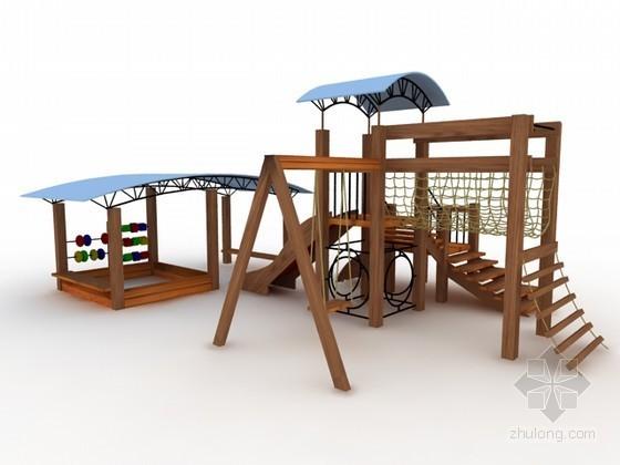 儿童游乐设备3d模型下载