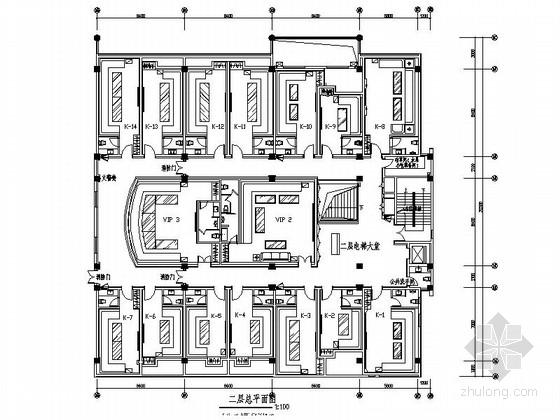 [徐州]奢华高档休闲度假娱乐会所室内装修施工图